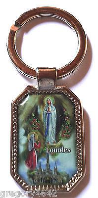 Magnifique Porte Clef De Notre Dame De Lourdes Benie A La Grotte Reputatie Eerst