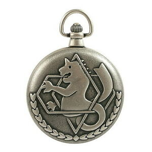 #500 OFFICIAL FULLMETAL ALCHEMIST ED POCKET WATCH WITH CITIZEN MOVT
