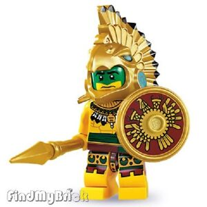NEW-Lego-Minifigure-8831-Series-7-Aztec-Warrior-Brand-New-not-Sealed-NEW