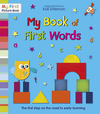 Stileman, Kali, My Book of First Words (My First Picture Book), Very Good Book