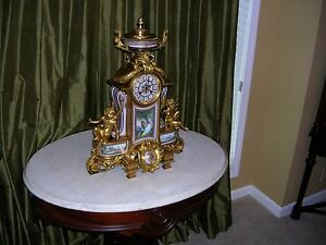 very-large-antique-french-dore-bronze-sevres-plaques-mantle-clock