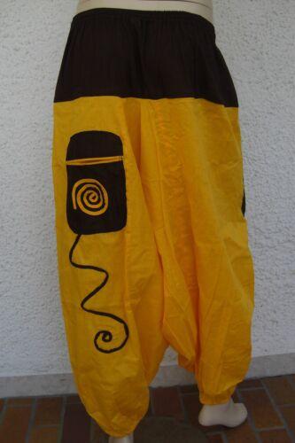Aladinhose Pumphose Harem hose pantalon pants goa ethno hippie indien inde 2.W