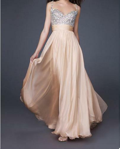 Beaded Top CHIFFON BRIDESMAID DRESS PROM/BALL/WEDDING Dress SZ18,20,22,24,26,28