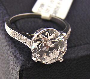 Art-Deco-CARTIER-Platinum-Diamond-Ring-w-3-01-Carat-E-VS1-Diamond-W-GIA-Report