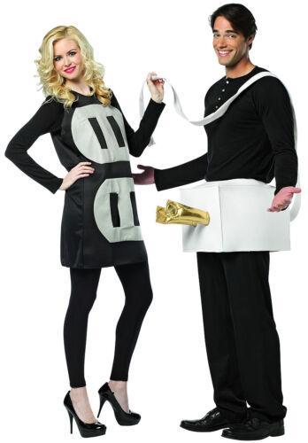 Plug & Socket Couples Funny Comic Dress Up Halloween Adult Costume 2 COSTUMES