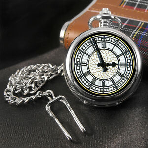 Big Ben Face Pocket Watch