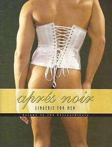 Apres-Noir-Lingerie-for-Men-38pg-catalog-Cross-Dressing-Drag-Queens-Gay-Interest