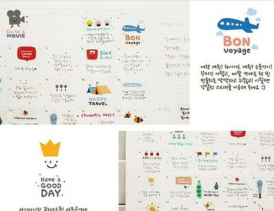 Happy Days weather Diary calendar Filofax Schedule Notebook Deco Sticker 5sheet
