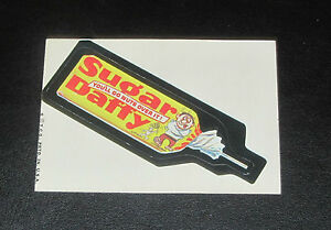 73 WACKY PACKAGES SERIES 6 TB SUGAR DAFFY EX