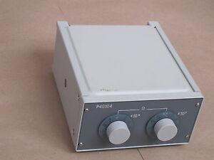 10-1100MOhm-0-05-Decade-resistance-box-resistor-P40104-an-g-GR-LS-amp-N-ESI-IET-GR