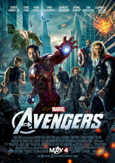 AVENGERS  movie NEW !!!  A3 PRINTED POSTER