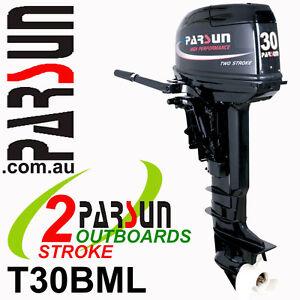30HP-PARSUN-Outboard-2-stroke-Long-Shaft-BRAND-NEW-2yr-FULL-FACTORY-Warranty