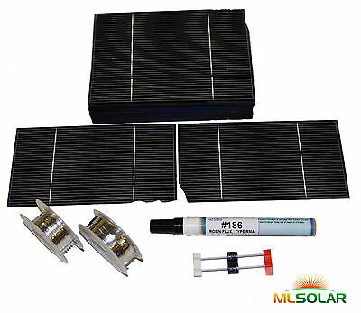 300 w 3x6 Solar Cell (160 cell) Kit DIY 12V Solar Panel B+ Battery Charger