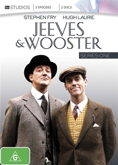 Jeeves And Wooster : Series 1 First Season - DVD - FREE POST