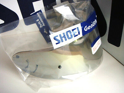 Shoei CW1 CW-1 Pinlock Gold-Mirror Soft-Smoke Shield X12 X-12 X-Spirit 2