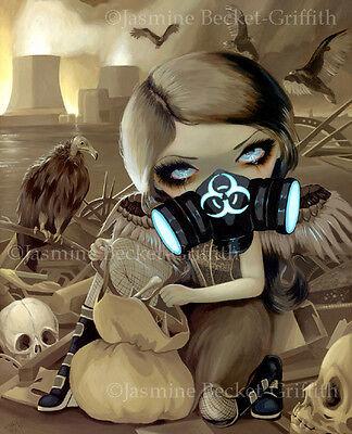 Jasmine Becket-Griffith art BIG print SIGNED Scavengers steampunk cyberpunk goth