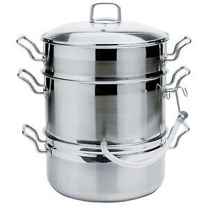 NORPRO-KRONA-11Qt-18-10-Stainless-Steel-Steamer-Juicer-Cooker