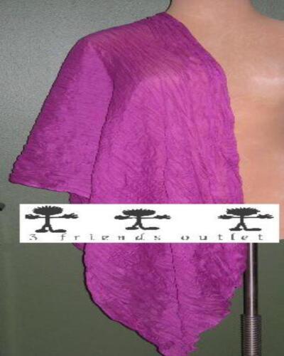 LANE BRYANT Pretty Crinkle Scarf or Wrap Choose Mauve Pink or Beige NWT