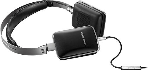 Harman Kardon CL Precision On-Ear Headphones with Extended Bass - Black