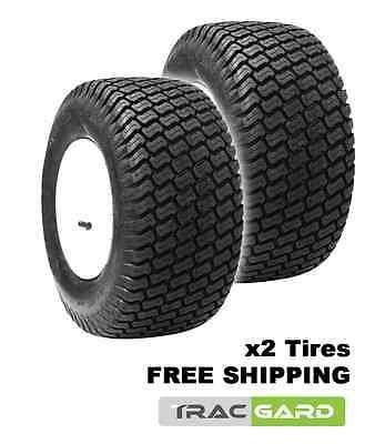 Pair (2) New Trac Gard N766 Utility Tires 18X650-8 18X6.50-8 186508 (#27305002)
