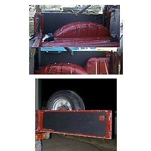 Suzuki SAMURAI ABS Plastic Tailgate & Rear Side Panels