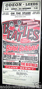 BEATLES-Poster-Odeon-Leeds-Southport-Print-Retro-60s-Old-Rock-n-Roll-Pop-Music