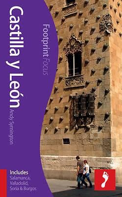 Castilla Y Leon: (includes  Salamanca, Valladolid, Soria & Burgos)-ExLibrary