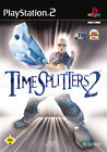 TimeSplitters 2 (Sony PlayStation 2, 2002, DVD-Box)