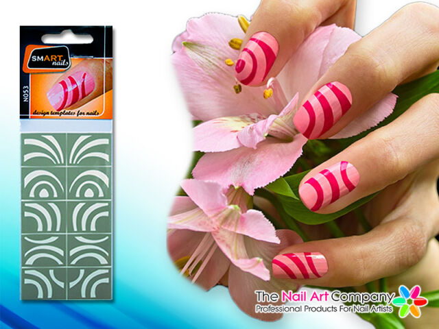 SmART-Nails - Magnet Nail Art Stencils N053 Professional Nail Product