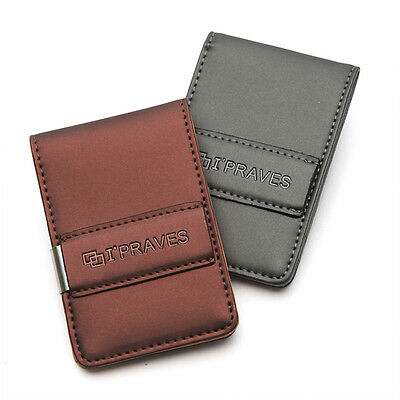 New Genuine Leather Wallet Credit Card Case Money Clip ID Wallet GIFT 2Color