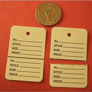 1000-TAGGING-HANG-LABEL-PRICE-TAG-WHITE-2-PART-UNSTRUNG-1-1-4-W-x-1-7-8-H