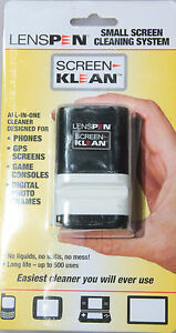LensPen-Screen-Klean-Small-Screen-Cleaning-System-Pad-w-Brush-J-377-NEW