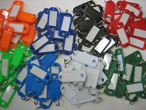 Lot-of-200-Key-ID-Labels-Tags-with-Key-Ring-Split-Rings