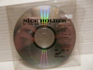 NICK-HOLDER-Still-on-track-CD-sampler-promo-album-9-titres-LC7306-K7R18CD