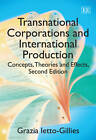 Transnational Corporations and International Production: Concepts, Theories and Effects by Grazia Ietto-Gillies (Paperback, 2012)