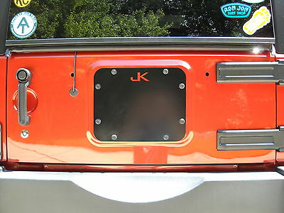 jk jeep spare tire cover plate 07'-17'