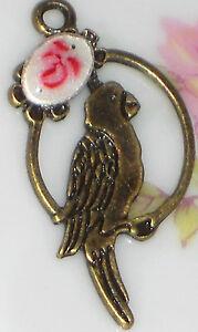 660L-Brass-Bird-Charm-Pendant-Guilloche-Connector-Finding-Art-Nouveau-Enamel