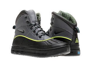 Nike woodside 2 high gs acg black grey volt boys boots 524872 002