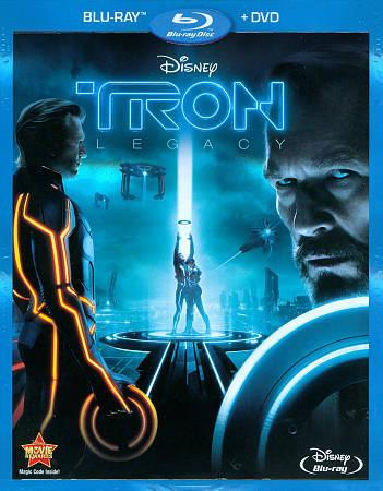 Tron: Legacy (Blu-ray/DVD, 2011, 2-Disc Set)