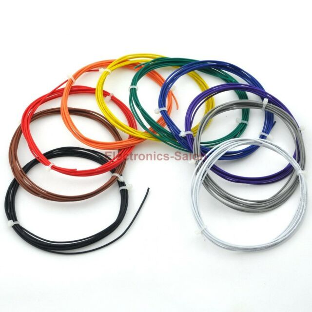 Ten Colors UL-1007 24AWG Hook-up Wires Kit.