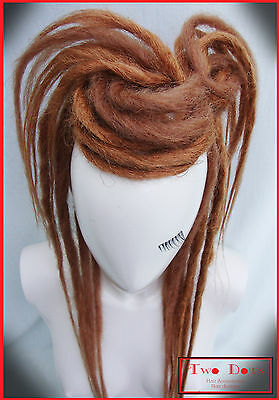 Strawberry Blonde Synthetic Dread Falls, Burning Man Hippie Steampunk Bohemian