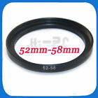 Eforcity 52-mm to 58-mm Camera Lens Filter Step Up Adapter Ring