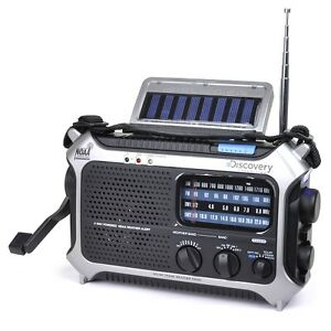 Discovery-Expedition-Weather-Radio-5-Way-Powered-Flashlight-USB-Battery