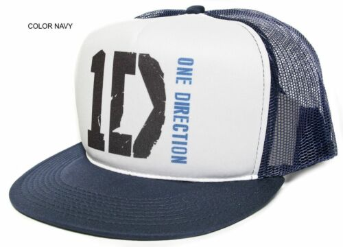 New Retro 1D One Direction BLUES Harry Louis Niall Casquette Snapback Baseball