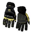 Body Glove 90142 Heavy Duty Mechanics Gloves, Black and Yellow, Large