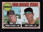 1968 Topps Rookie Stars 409 Baseball Card