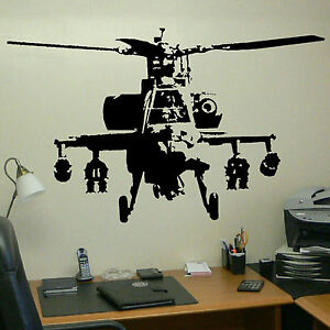 Banksy Wall Art xtra large banksy helicopter wall art bedroom mural giant sticker