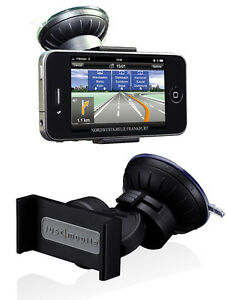 C37-New-Just-Mobile-Xtand-Go-Car-Windshield-Dash-Mount-for-iPhone-4-4S-Black
