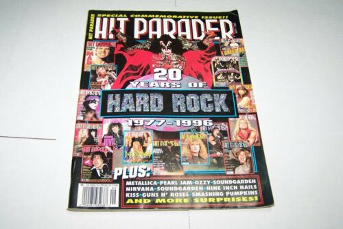 SEPT 1996 HIT PARADER rock and roll music magazine KISS 20 YEARS