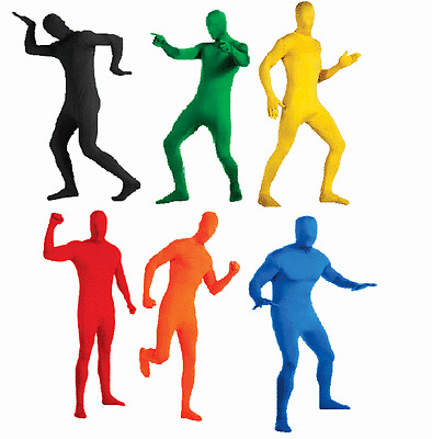 2ND SKIN SUIT SPANDEX ADULT ZENTAI STRETCH BODYSUIT JUMPSUIT UNITARD COSTUME
